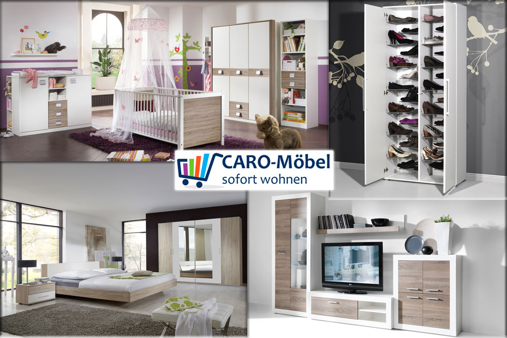 caro m bel outlet store in g strow. Black Bedroom Furniture Sets. Home Design Ideas